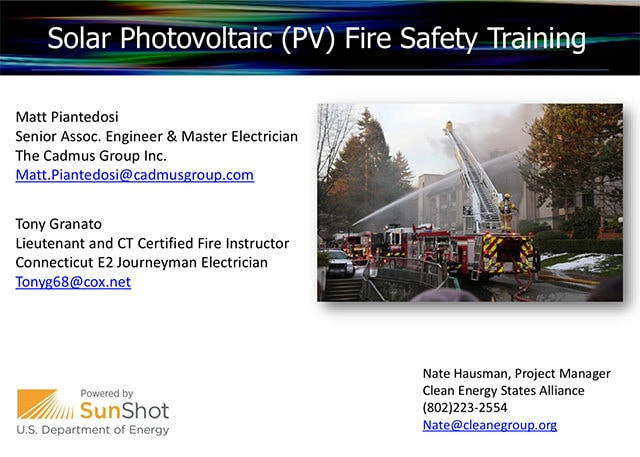 CESA-PV-Fire-Safety-Training-Slides cover