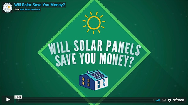 Will Solar Panels Save You Money video cover